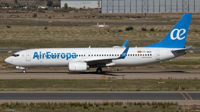 A picture of ECMUZ - Boeing 73785P - Air Europa - © Nowakowski Adrian