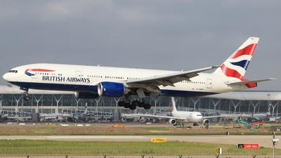 G-YMMH - Boeing 777-236(ER) - British Airways