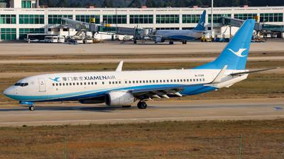 A picture of B1709 - Boeing 73785C - Xiamen Air - © JIN SHENGWEI