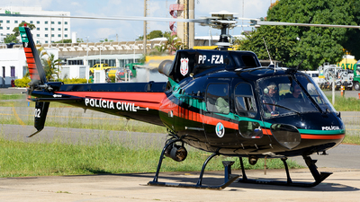 PP-FZA - Aérospatiale AS 350B2 Ecureuil - Brazil- Civilian Police of the Federal District.