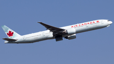 A picture of CFIVM - Boeing 777333(ER) - Air Canada - © Fabian Behr