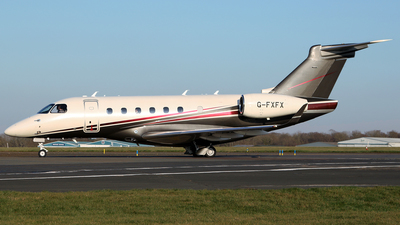 G-FXFX - Embraer EMB-550 Legacy 500 - Flexjet
