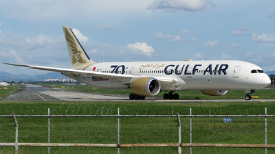 A picture of A9CFC - Boeing 7879 Dreamliner - Gulf Air - © Isaac Apolinario-Philippine Aviators