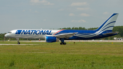 N176CA - Boeing 757-28A - National Airlines