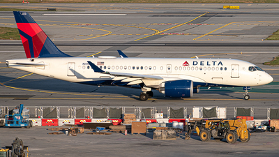 A picture of N119DU - Airbus A220100 - Delta Air Lines - © Nailah Blake