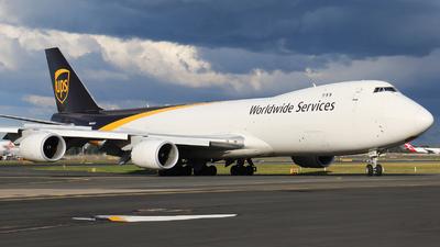 N609UP - Boeing 747-84AF - United Parcel Service (UPS)
