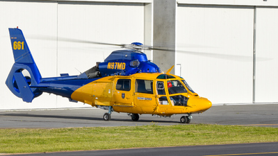 A picture of N97MD - Airbus Helicopters AS365 Dauphin - [6330] - © Caleb Hotz