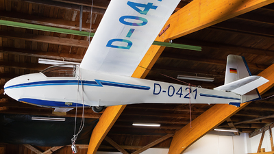 D-0421 - Schleicher KA-8B - Luftsportgruppe Isny