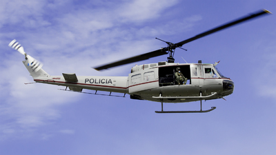 PNC387 - Bell UH-1H Huey II - PNC Policia Nacional Civil