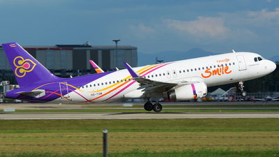 HS-TXM - Airbus A320-232 - Thai Smile