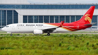 B-5672 - Boeing 737-87L - Shenzhen Airlines
