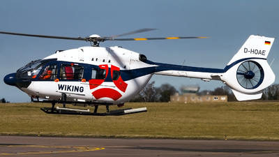 D-HOAE - Airbus Helicopters H145 - Wiking Helikopter Service