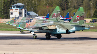 RF-95480 - Sukhoi Su-25SM Frogfoot - Russia - Air Force