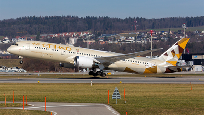 A6-BNB - Boeing 787-9 Dreamliner - Etihad Airways