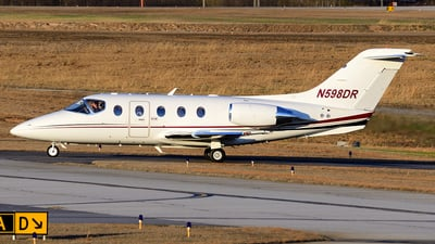 A picture of N598DR - Hawker Beechcraft 400XP - [RK478] - © Agustin Anaya