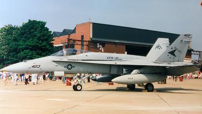 163477 - McDonnell Douglas F-18C Hornet - United States - US Navy (USN)