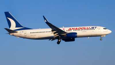 TC-SBI - Boeing 737-8AS - AnadoluJet