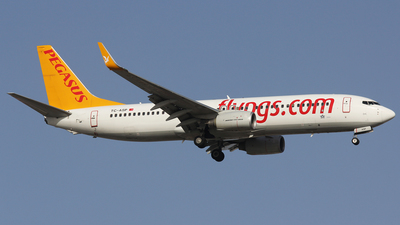 TC-ASP - Boeing 737-82R - Pegasus Airlines