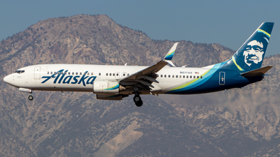 A picture of N577AS - Boeing 737890 - Alaska Airlines - © Issac