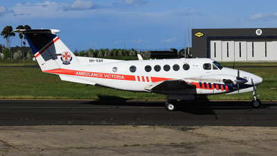 VH-VAH - Beechcraft B200C Super King Air - Air Ambulance Victoria (RFDS)