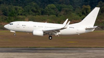 N7777Q - Boeing 737-7BC(BBJ) - Liaoning Meridian Jet