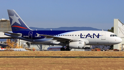 CC-CPJ - Airbus A319-132 - LAN Airlines