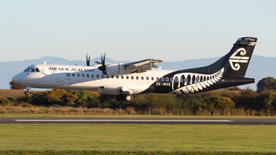 ZK-MVE - ATR 72-212A(600) - Air New Zealand Link (Mount Cook Airline)