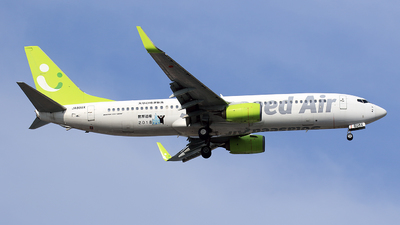 A picture of JA808X - Boeing 73781D - Solaseed Air - © TRAVAIR