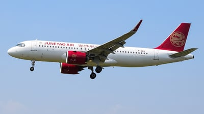 B-321A - Airbus A320-271N - Juneyao Airlines