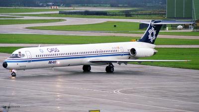 EC-EXX - McDonnell Douglas MD-83 - Oasis International Airlines