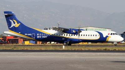 A picture of 9NAMD - ATR 72500 - Buddha Air - © Robin Frosch