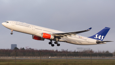 LN-RKN - Airbus A330-343 - Scandinavian Airlines (SAS)
