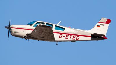 D-ETEG - Beechcraft F33A Bonanza - Private