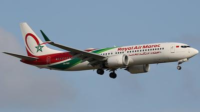 A picture of CNMAY - Boeing 737 MAX 8 - Royal Air Maroc - © Jorge Medina Mediavilla
