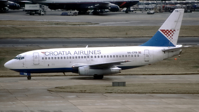 9A-CTB - Boeing 737-230(Adv) - Croatia Airlines