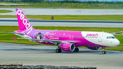 JA805P - Airbus A320-214 - Peach Aviation
