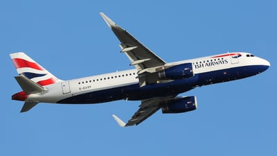 G-EUYP - Airbus A320-232 - British Airways