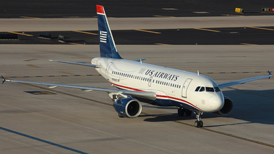 N763US - Airbus A319-112 - US Airways