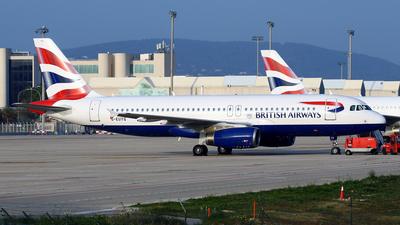 A picture of GEUYG - Airbus A320232 - British Airways - © Javier Rodriguez - Amics de Son Sant Joan