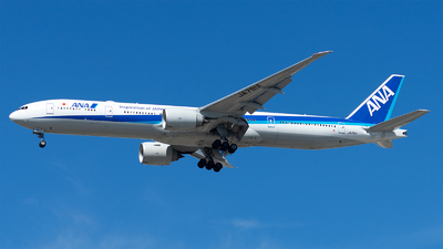 A picture of JA791A - Boeing 777381(ER) - All Nippon Airways - © Mingfei S