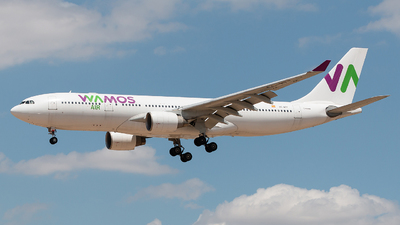 A picture of ECMTT - Airbus A330223 - Wamos Air - © Rodrigo Train