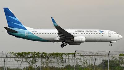 PK-GFH - Boeing 737-8U3 - Garuda Indonesia