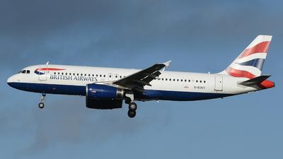 G-EUUY - Airbus A320-232 - British Airways