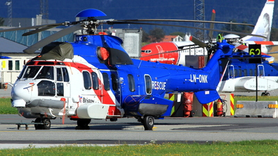 LN-ONK - Eurocopter EC 225LP Super Puma II+ - Bristow Helicopters