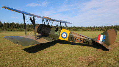 OY-ECH - De Havilland DH-82A Tiger Moth - Private