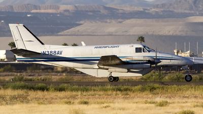 A picture of N388AV - Beech C99 Airliner - Ameriflight - © Jeremy D. Dando