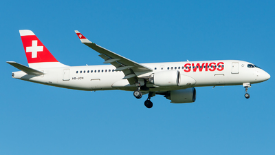 A picture of HBJCN - Airbus A220300 - Swiss - © GoldenWingPix