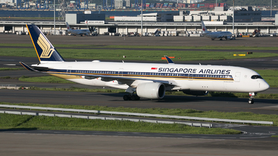 9V-SMA - Airbus A350-941 - Singapore Airlines