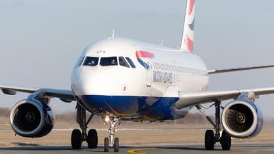 G-EUYS - Airbus A320-232 - British Airways