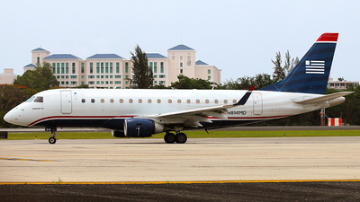 N814MD - Embraer 170-100SU - US Airways Express (Republic Airlines)